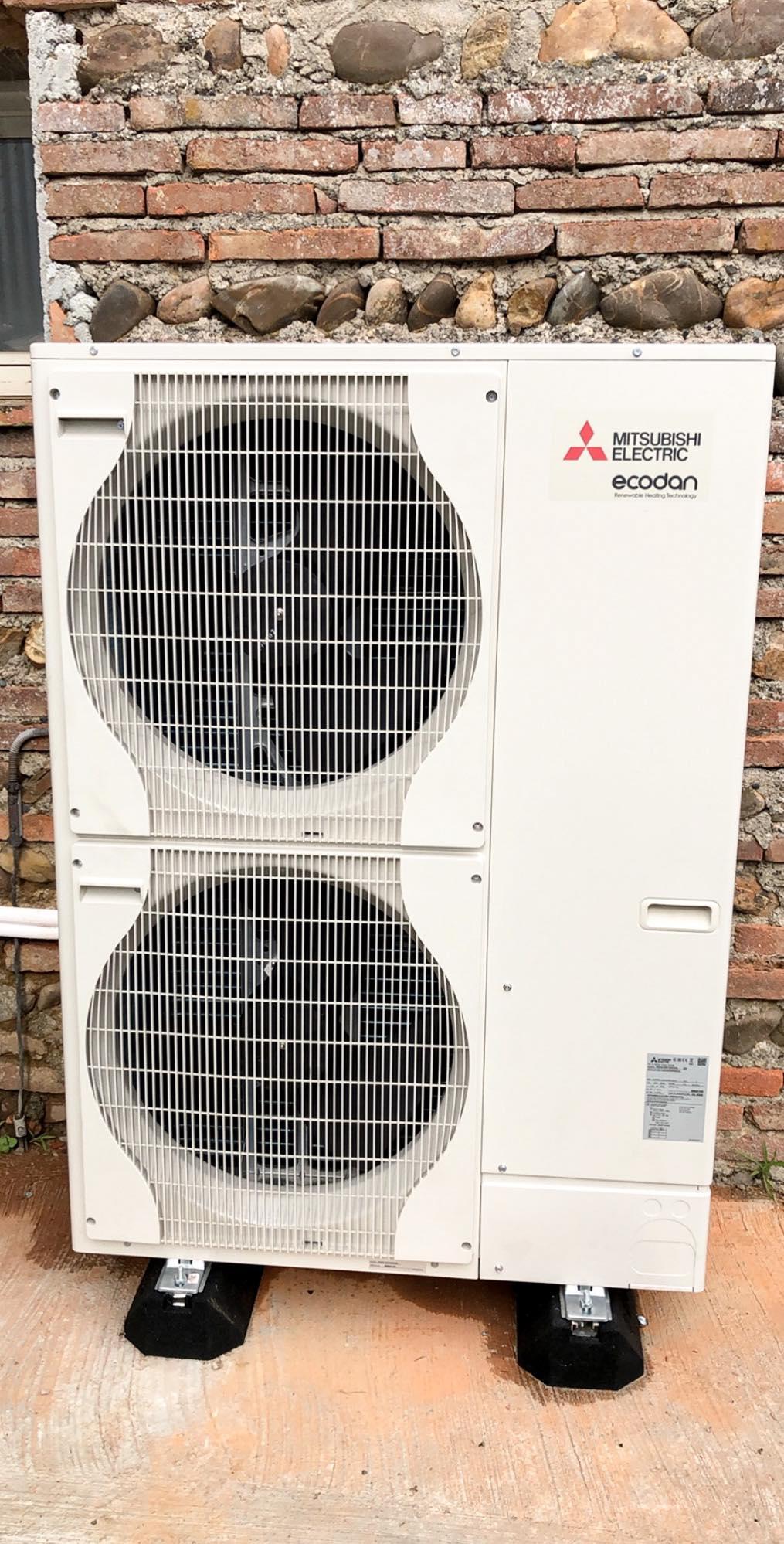 Réseau radiateur Pompe à chaleur air eau Domo Conseil Toulouse