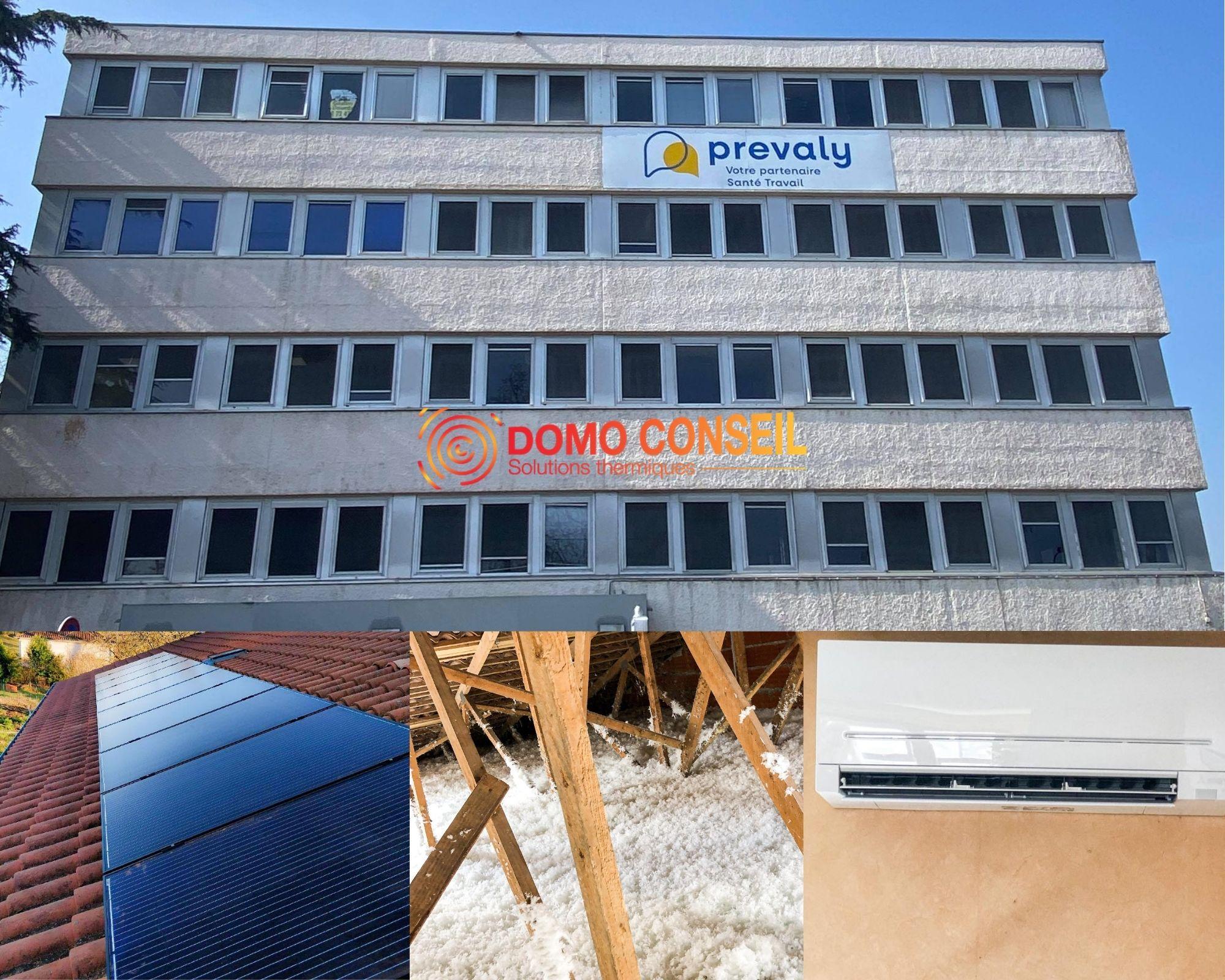 Entreprise Domo Conseil Toulouse région économie panneaux photovoltaïques isolation climatisation
